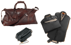 Cambridge leather travel accessories