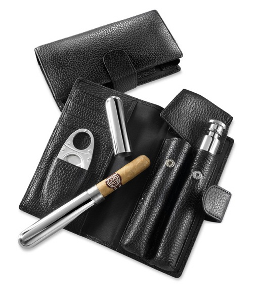 Cigar/Flask Set